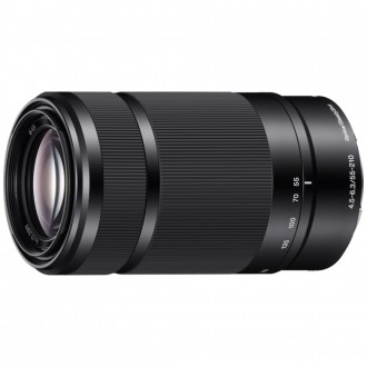 Sony 55-210mm f/4.5-6.3 E -Black 