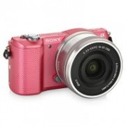 Sony  ILCE-5000P 16-50 Kit Pink